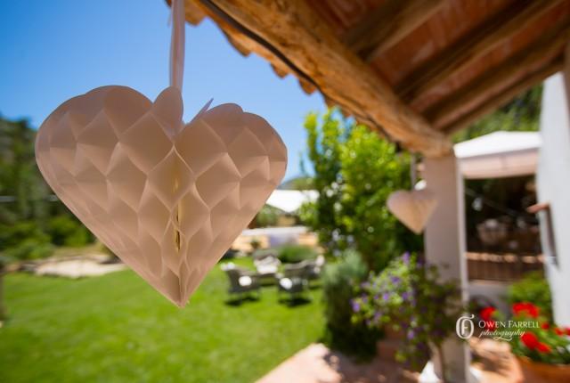 Wedding ceremony at Molino del Conde