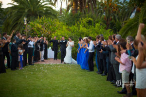 ways to end a wedding ceremony
