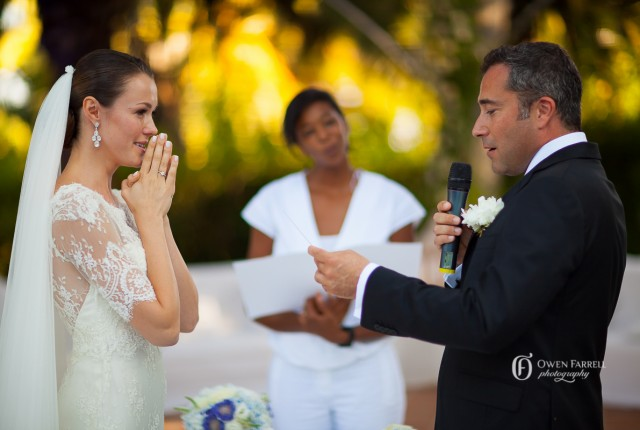 wedding ceremony in Spain