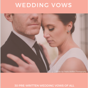 30 Awesome Vows FRONT COVER