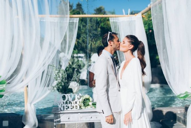 Garden wedding in Spain
