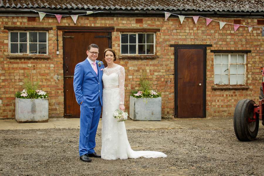 Alex and Emma farm wedding