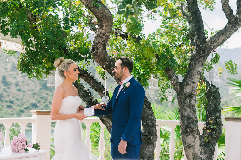 Garden wedding Spain