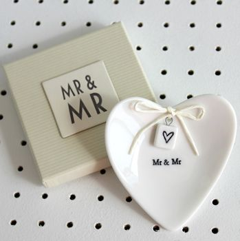 http://www.notonthehighstreet.com/poshtottydesignsinteriors/product/mr-and-mr-ceramic-ring-dish