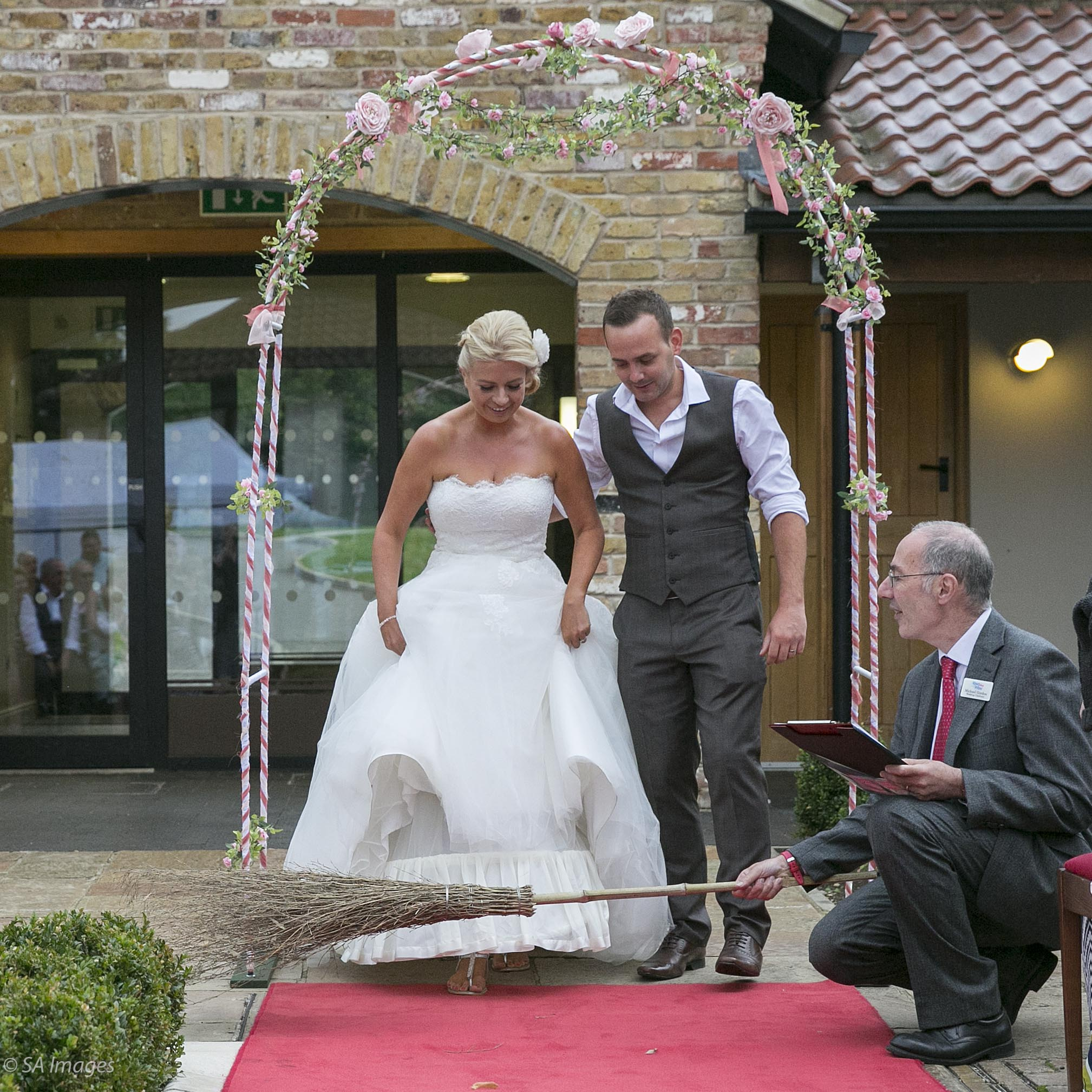 A Summery English Barn Ceremony With Oodles Of Personal Touches Engaged And Ready