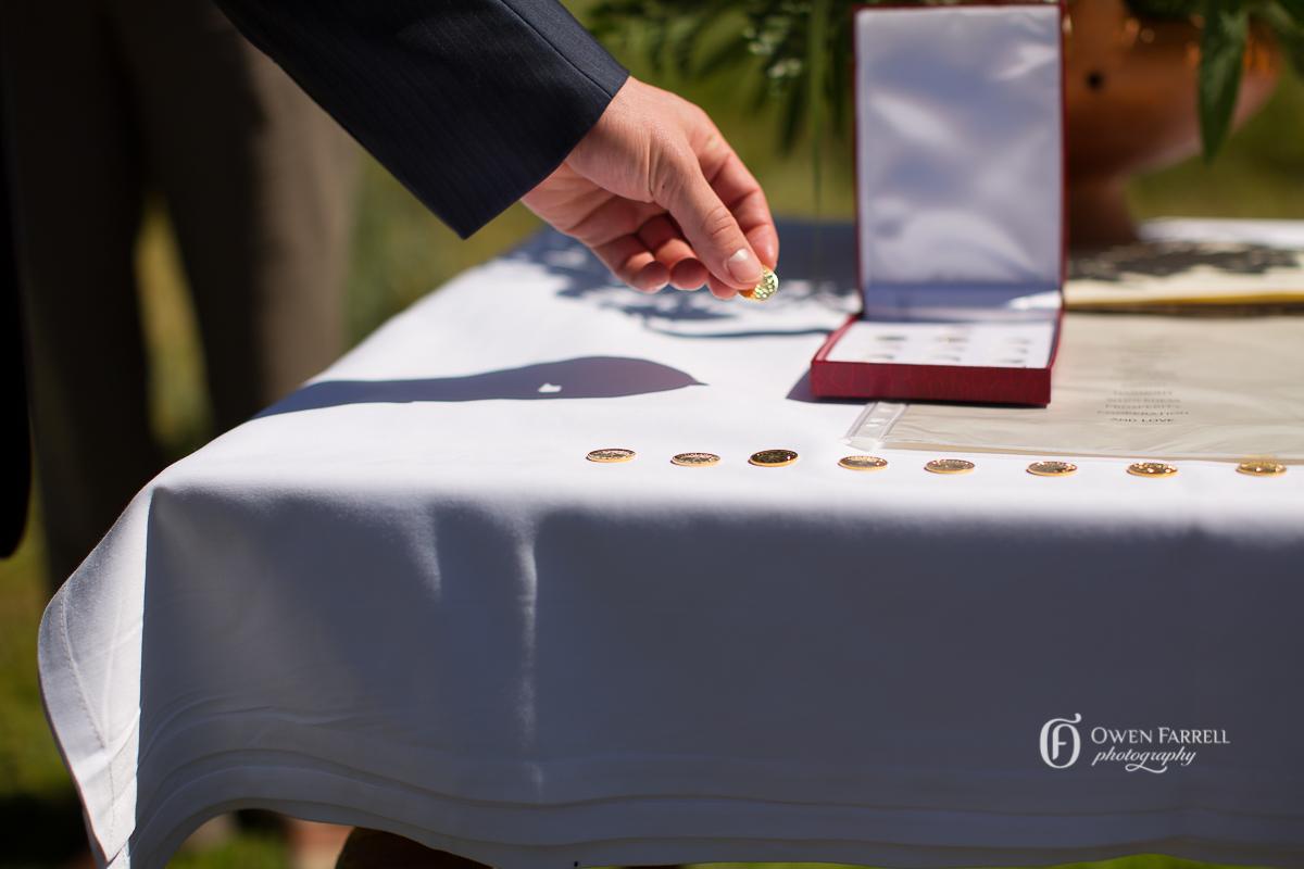 Wedding ceremony in Malaga