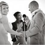 Standing positions for wedding ceremonies