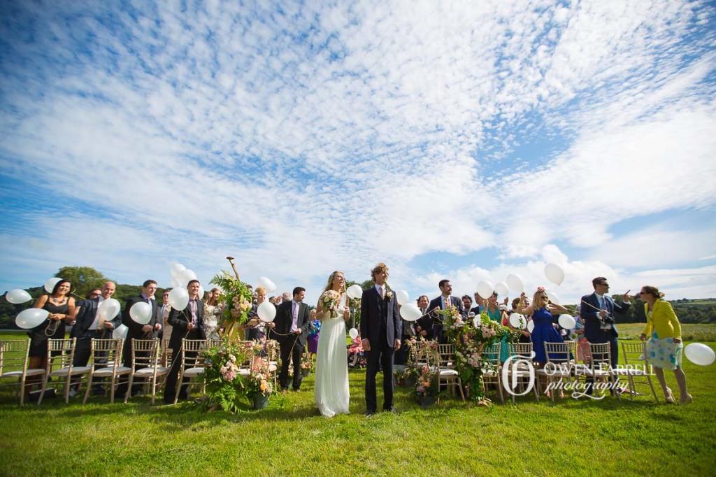 Ireland garden wedding