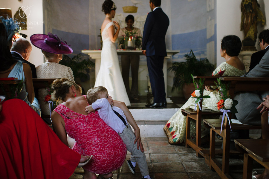 wedding in La Virgina Chapel