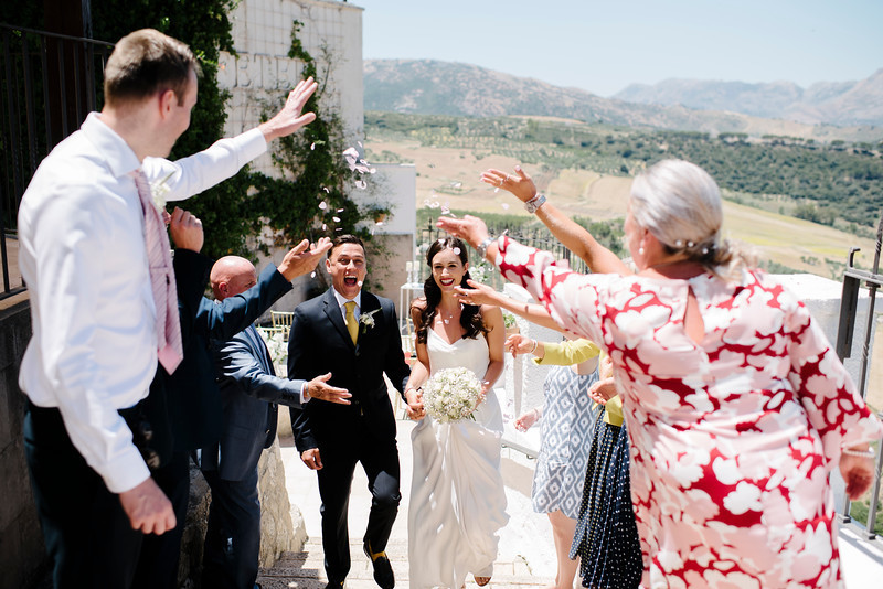 Stunning micro wedding in Ronda