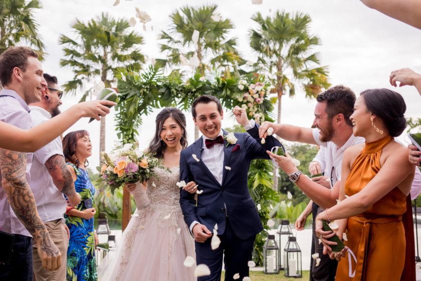 Bali Garden wedding