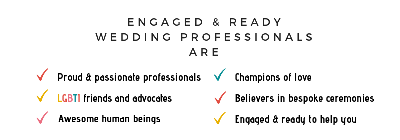 ER wedding professionals image
