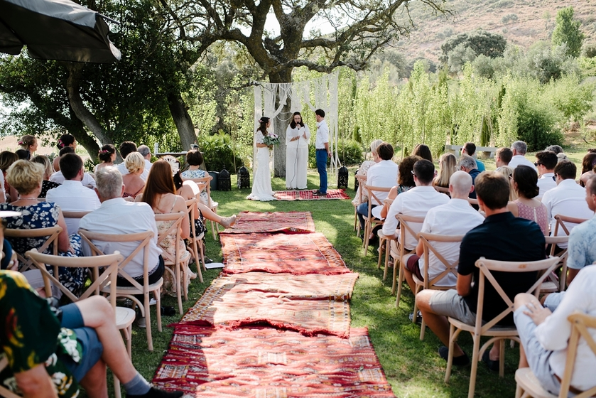 Boho outdoor wedding by Pedro Bellido Photography