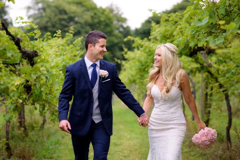 English Humanist garden wedding