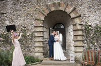 Stephanie & Ronan at Lewes Castle | Sarah Wenban Photography