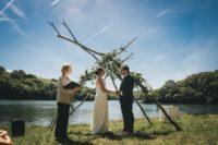 Riverside wedding on the Helford