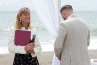 Bespoke beach wedding | photo Juanma Segura | Celebrant in Spain
