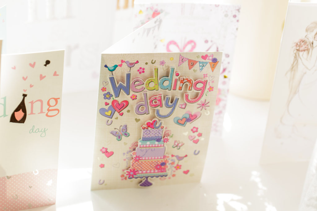 Emma and Alex wedding card