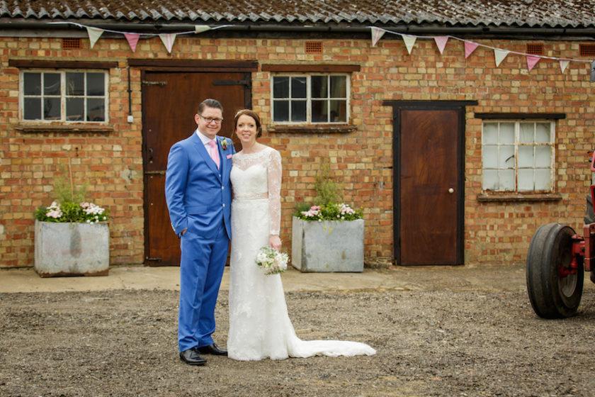 Alex and Emma farm wedding