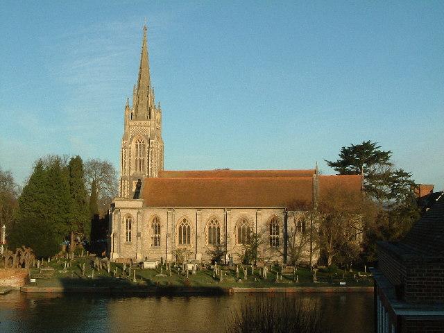 The beautiful church in my hometown of Marlow, Buckinghamshire.