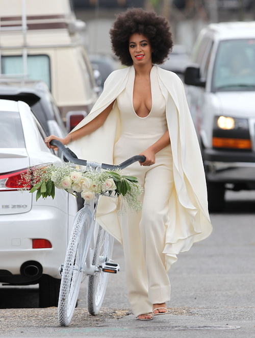 Solange's jumpsuit by Stephane Rolland