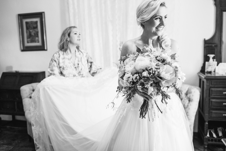 Gemma and James wedding by Radka Horvath