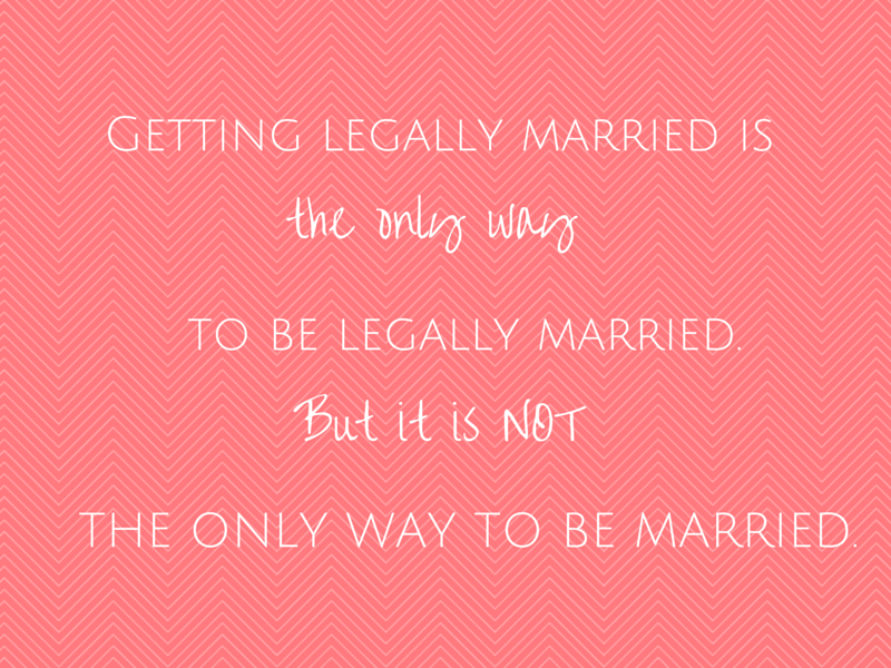 Getting legally married (2)