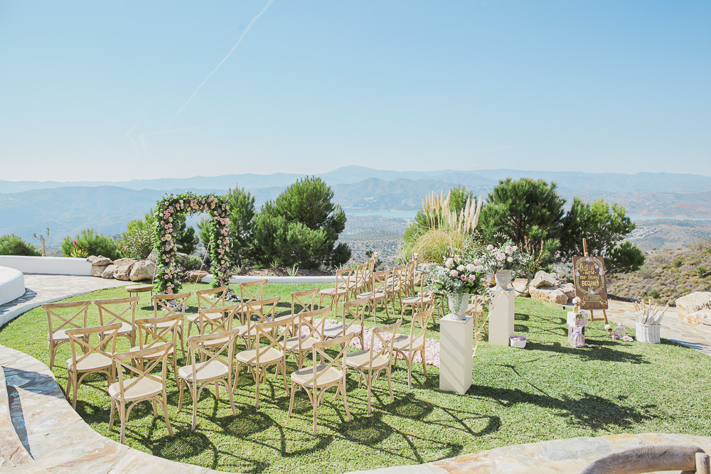 Ceremony area - Eloy Muñoz Photography