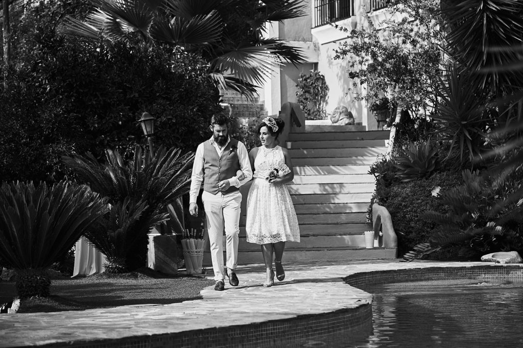 Kate and Donal's Wedding in Spain 2015 Picture: Miki Barlok